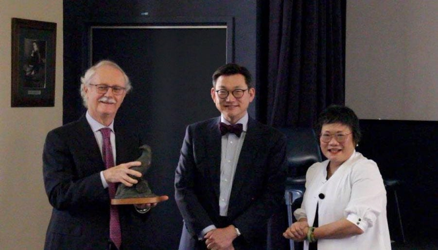 Dr Justin Playfair, AProf Andrew Chang and Dr Pauline Rumma